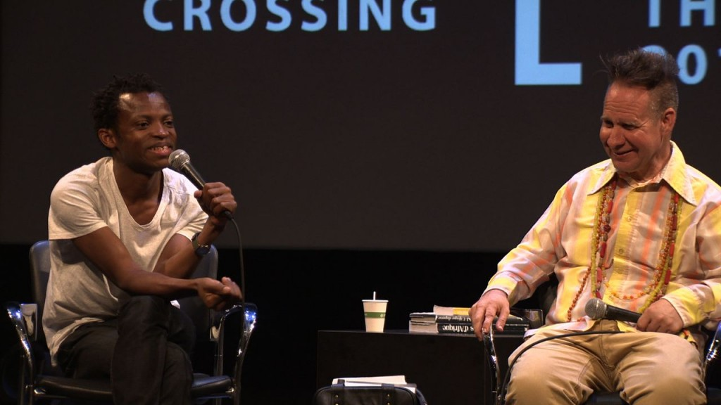 Faustin Linyekula and Peter Sellars at Crossing the Line