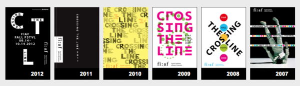 Crossing the Line Posters 2007-12